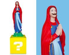 A releitura dos santos na cultura pop de Chamaillard