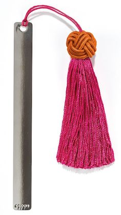 4be32769fd  Bookmark with tassle  by Cedon. Available in 5 colors.