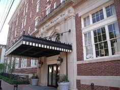 The George Washington Hotel, Winchester, Virginia. A beautifully restored hotel in Old Town Winchester.