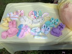 My mom made all of these for Gracie <3