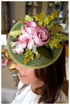#tocado #flores #Cherubina #flower #headpiece