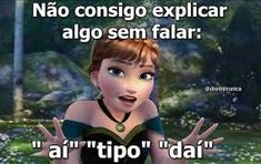 Eu na vida kkk Funny Pictures With Captions, Best Funny Pictures, Funny Disney Memes, Funny Memes, Memes Humor, Funny Babies, Funny Kids, Memes Status, Funny Quotes For Teens