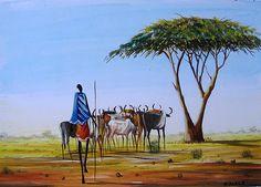 Under Acacia  by Kelvin Malack of Kenya