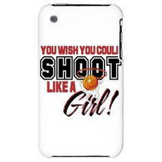 Basketball - Shoot Like a Girl iPhone Case