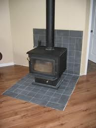 wood stove heat shield; ehh could be nicer