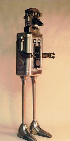 CLAYTON G. BAILEY - ROBOTGROUP_SPARKY ROBOT- 1997