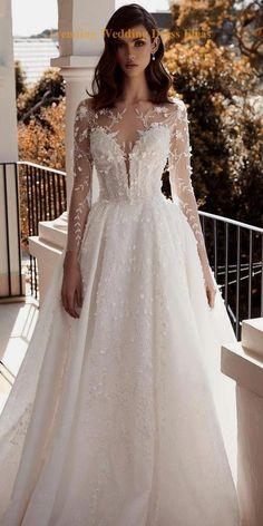 Wedding Dress Trends, Long Wedding Dresses, Bridal Dresses, Event Dresses, Long Dresses, Simple Dresses, Gown Wedding, Party Dresses, Beautiful Dresses