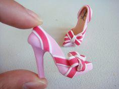 Miniature High Heel Shoes  - etsy