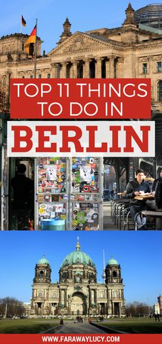 My top 11 things to see and do when visiting Berlin, Germany's capital. Find out the best views of the city and the best burger in the city! Click through to read more...