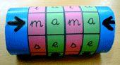 La máquina de fabricar palabras. Un recurso para iniciarse en la lectoescritura de forma divertida con los niños de Infantil y Primero de Primaria. Language Activities, Art Supplies, About Me Blog, Teaching, Club, Ideas Para, Table, Activities, The World