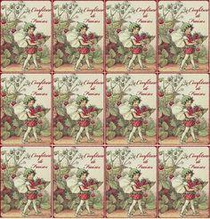 Etiquettes de Confiture de Fraises… | Prunelle et Bigoudi Minis, Illustrations, Miniatures, Printables, Scrapbook, Tags, Deco, Champs, Strawberry
