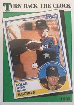 1988 Topps Baseball #661 Nolan Ryan TBC '83•