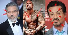 Women aren't the only ones getting facelifts in Hollywood. | From outstandingpicturesdaily