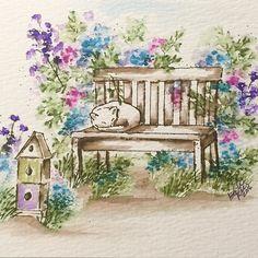 art impressions - watercolor - marker