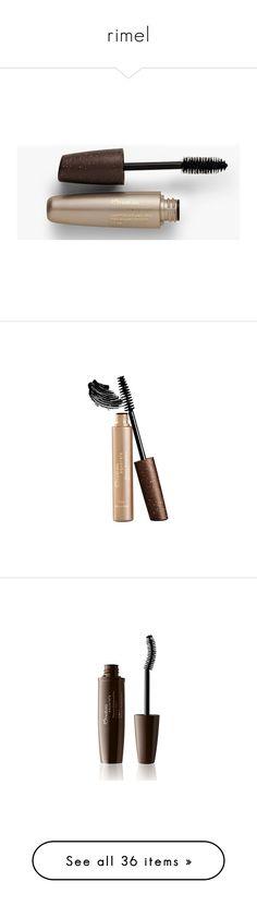"""rimel"" by paradapermitida on Polyvore featuring maquiagem, beauty products, makeup, eye makeup, mascara, mary kay, lashes, eyes, conditioning mascara e mary kay eye makeup"