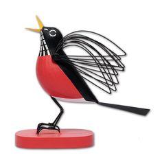 Charley Harper Round Robin Wood Bird