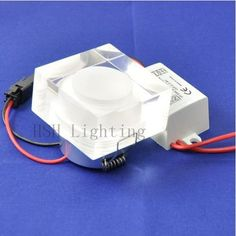 Airmail Shipping AC85 265V 1*1W Mini LED Acrylic Downlight Beauty Hall&Louge dedication-in Industrial Lighting from Lights & Lighting on Aliexpress.com