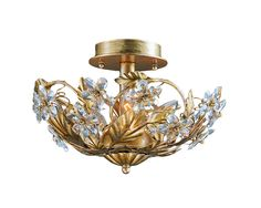 { front hall } Buy the Crystorama Lighting Group 5305-AW Antique White Direct. Shop for the Crystorama Lighting Group 5305-AW Antique White Abbie 3 Light Crystal Semi-Flush Ceiling Fixture with Hand-Cut Crystals and save.