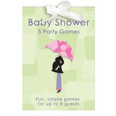 Mod Mum - Baby Shower Party Game Book - lots of fun and games for you and your friends at your baby shower party. £2.95