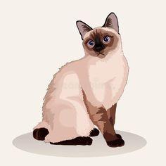 Custom Dog Portraits, Pet Portraits, Tattoo Gato, Gato Animal, Poster S, Cat Memorial, Cat Stickers, Cat Drawing, Animal Paintings