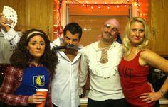 Arrested Development Group Costume -- Maeby, Gob, Tobias & Lindsay @Heather Creswell Jowers @moxiethrift on etsy Bentley @Kayla Barkett Clark