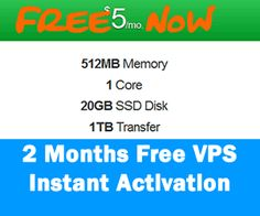 2 Months Free VPS