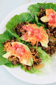 Make Every Day Taco Tuesday With Healthy, Spicy, Vegan Lettuce Cup Tacos