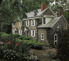 18th century Pennsylvania, Georgian farmhouse