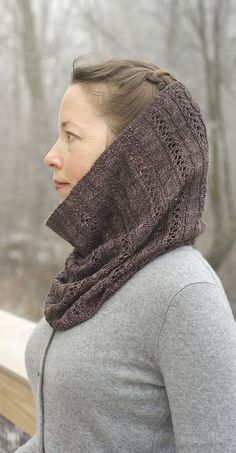 Mora Woods pattern by Virginia Sattler-Reimer Cowl Scarf, Wood Patterns, Cowls, Knitting Ideas, Yarns, Pastels, Crochet Projects, Knits, Virginia