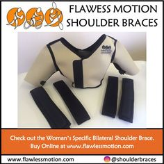 The best woman's specific bilateral flawless motion shoulder brace. Designed for active women with ligamentous laxity in the shoulders, the Women's Bilateral Brace delivers additional support to maintain correct shoulder positioning.  #shoulderbraceforwomen #womansspecificshoulderbrace #womansshoulderbrace #womens bilateralshoulderbrace #womensbrace #bestwomensshouldserbrace Shoulder Brace, Black Vest, Braces, Amazing Women, Corset, Breast, Shape, Female, Bustiers