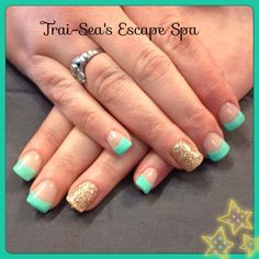 nail art by Trai-Sea's Escape Spa