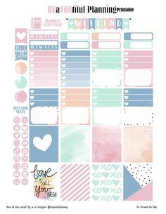 Love – Free Printable   BEaYOUtiful Planning