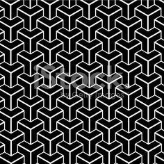 black and white abstract geometry shape background lizenzfreie Stock-Vektorgrafik