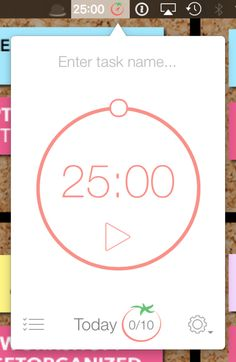 Pomodoro Technique Timer App | GoffCreative.com