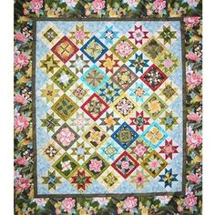 Kensington Kaleidoscope Quilt Pattern – Quilting Books Patterns and Notions