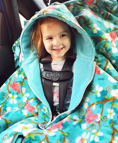 About Car Seat Ponchos - Car Seat Ponchos Canada - Ally's Fuzzies