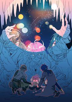 巡り会う約束の場所で Manga Art, Anime Art, Anime Rapper, Hi Welcome To Chili's, Rap Battle, Jojo Bizarre, Jojo's Bizarre Adventure, The Magicians, Illustration Art