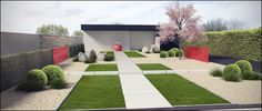 Garden design 3D #timothy cools design#tuinarchitectengroep eco belgium
