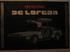 Presenting DeLorean Dealership Showroom Poster #DeLorean #DMC #BTTF