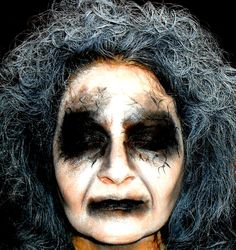 That of course keeps ghost costumes near the top of … Ghost Makeup, Fx Makeup, Makeup Ideas, Crazy Halloween Makeup, Haunted House Makeup, Halloween Ghosts, Halloween Costumes, Halloween Ideas, Halloween 2019
