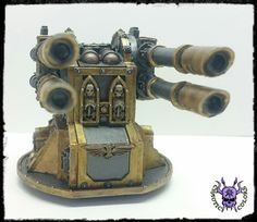 Wall of Martyrs - Quad-linked Lascannon #ChaoticColors #commissionpainting #paintingcommission #painting #miniatures #paintingminiatures #wargaming #Miniaturepainting #Tabletopgames #Wargaming #Scalemodel #Miniatures #art #creative #photooftheday #hobby #paintingwarhammer #Warhammerpainting #warhammer #wh #gamesworkshop #gw #Warhammer40k #Warhammer40000 #Wh40k #40K #terrain #scenery #Scifi #WallofMartyrs #FirestormRedoubt #Quadlinked #Lascannon