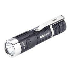 zanflare F1 Cree XPL V6 1240LM 7Mode LED Flashlights Brightness for Night Riding