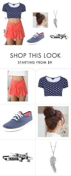 """""""summer shopping"""" by lillibean on Polyvore featuring Topshop, Keds, Pin Show, Penny Preville, women's clothing, women, female, woman, misses and juniors"""