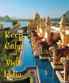Keep Calm and Visit India - created by eleni .