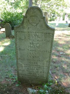 Nutfield Genealogy: Tombstone Tuesday ~ McClary Children, 1812 and 1825, Windham, New Hampshire #geneabloggers #genealogy