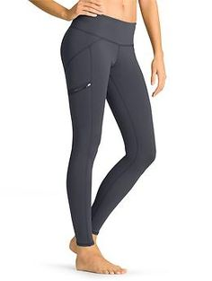 Drifter Tight - We took the super-flattering fit of our Chaturanga™ Tight and added side zip pockets and sweet new seam lines to make the ultimate tight for going out.