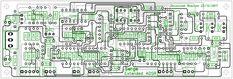 Serge Extended ADSR Envelope Generator PCB