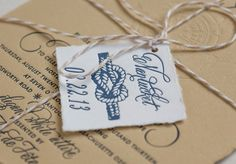 Custom Wedding Announcements | New Jersey Letterpress Invites