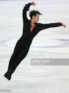 Daisuke Takahashi of Japan competes in the Men's Free Skating during day two of the ISU Four Continents Figure Skating Championships at Osaka...