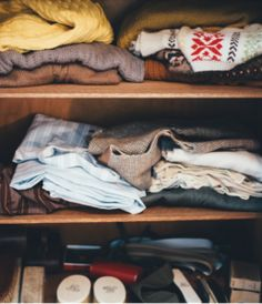 The beginning of the year is a great time to clear out what is not needed and what is. Our tiny closet is generally a great place to start. Tiny Closet, Closet Rod, Shoe Organizer, Tool Organization, Everything That Remains, Small Footstool, Creative Closets, Small Dresser, Shelf Dividers